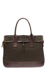 Will Leather Goods Men's 'Zig Zag Lookout' Briefcase