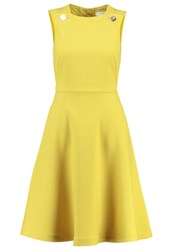 Lk Bennett Bayna Summer Dress Yellow Gold