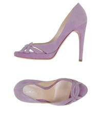 Casadei Footwear Courts Women Lilac