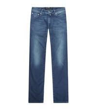 Jacob Cohen Slim Tapered Jeans Male Blue