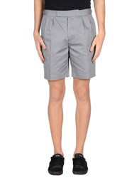 Brooks Brothers Trousers Bermuda Shorts Men Grey