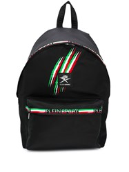 Plein Sport Logo Lined Backpack 60