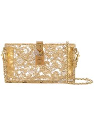 Dolce And Gabbana Box Clutch