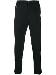 Dolce And Gabbana Slim Tailored Trousers Black