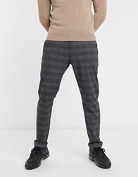Esprit Trousers In Check Grey