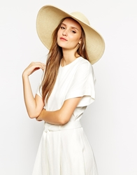 Whistles Wide Brim Sun Hat Lightnatural