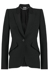 Alexander Mcqueen Tailored Blazer Black
