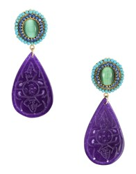 Katerina Psoma Earrings Blue