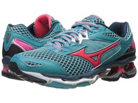 Mizuno Wave Creation 18 Capri Diva Pink Dress Blue Women's Running Shoes