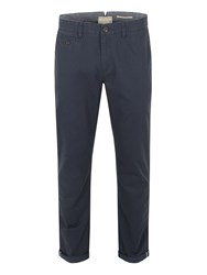 Racing Green Bridge Flat Front Chinos Navy