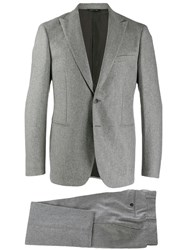 Tonello Tailored Suit Set Grey