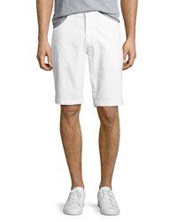 Ag Jeans Griffin Flat Front Shorts White