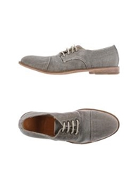 Cycle Lace Up Shoes Grey
