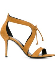 Premiata Stiletto Sandals Brown