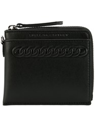 Stella Mccartney Falabella Embossed Wallet Men Artificial Leather One Size Black