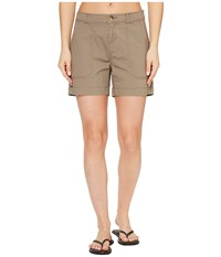 Woolrich Vista Point Eco Rich Shorts Heddle Women's Shorts Brown