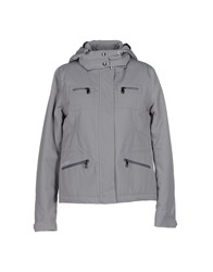 Geox Coats And Jackets Jackets Women Grey