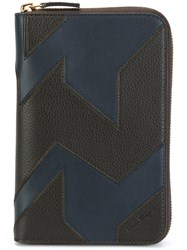 Salvatore Ferragamo Document Holder Black