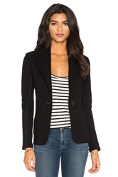 James Perse Shawl Collar Blazer Black