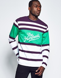 The Hundreds Town Long Sleeve Stripe T Shirt