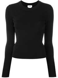 Dkny Fitted Jumper Black