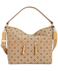 Giani Bernini Annabelle Chain Signature Hobo Only At Macy's Khaki Brown