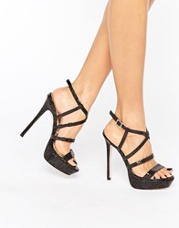 Asos Herring Platforms Black