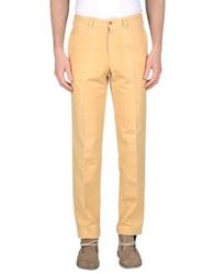 Henry Cotton's Casual Pants Light Yellow
