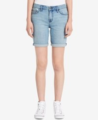Calvin Klein Jeans Denim Bermuda Shorts Atlantic Blue