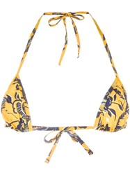 Etoile Isabel Marant Shayla Bikini Yellow Orange