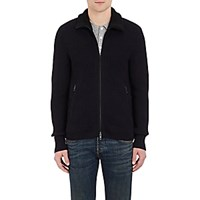 Rag And Bone Men's Mitchell Zip Front Cardigan Navy