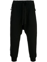Unravel Project Drop Crotch Sweatpants Black