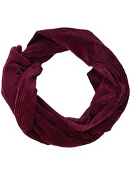 P.A.R.O.S.H. Ribbed Scarf Cotton Pink Purple