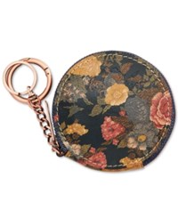 Patricia Nash Denim Fields Mini Scafati Key Chain Pouch Olive