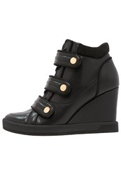 Aldo Ailia Hightop Trainers Black