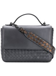 Bottega Veneta Intrecciato Alumna Bag Grey