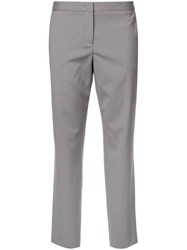 Fabiana Filippi Cropped Tailored Trousers Grey