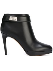 Givenchy 'Shark Tooth' Ankle Boots Black
