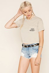 Forever 21 Babe Magnet Graphic Tee