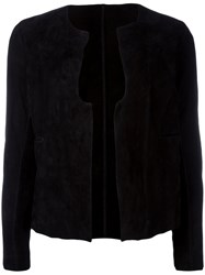 Salvatore Santoro Suede Jacket Black