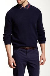 J.Crew Factory Lambswool Crew Neck Sweater Blue