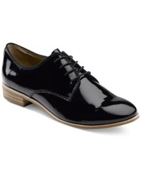 G.H. Bass And Co. Women's Ella Oxfords Women's Shoes Black Patent