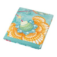 Pip Studio Shellebration Beach Towel Aqua