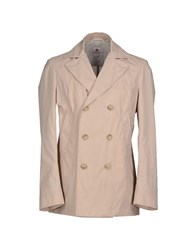 Luigi Borrelli Napoli Coats And Jackets Full Length Jackets Men Beige