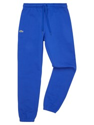 Lacoste Men's Sweatpants In Solid Fleece Marine