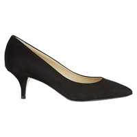 Hobbs Arianne Suede Court Shoes Black