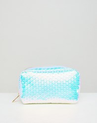 New Look Holographic Make Up Bag Multi Col