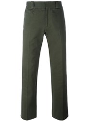 Marc Jacobs Cropped Trousers Green