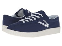 Tretorn Nylite Canvas W Tennis Peacoat Women's Shoes Blue