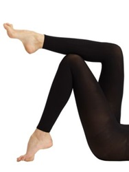 Commando Ultimate Opaque Matte Footless Tights Black
